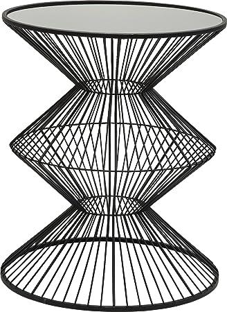 Kare design wire swing side table metal black 29 cm amazon kare design wire swing side table metal black 29 cm greentooth Gallery