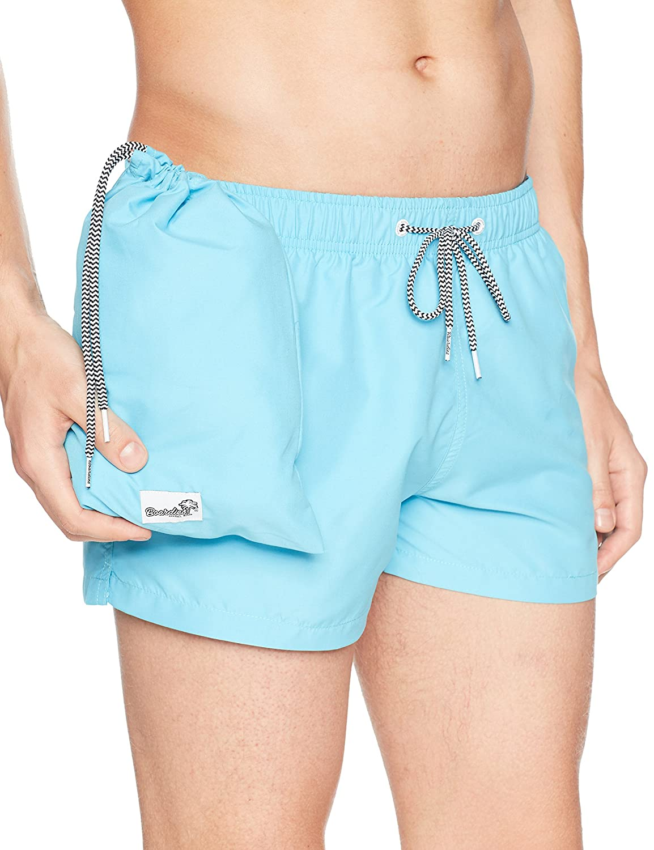 3c9493b1f0 Boardies Cyan Blue Shortie Swim Shorts, Cyan Blue, Small: Amazon.co.uk:  Sports & Outdoors