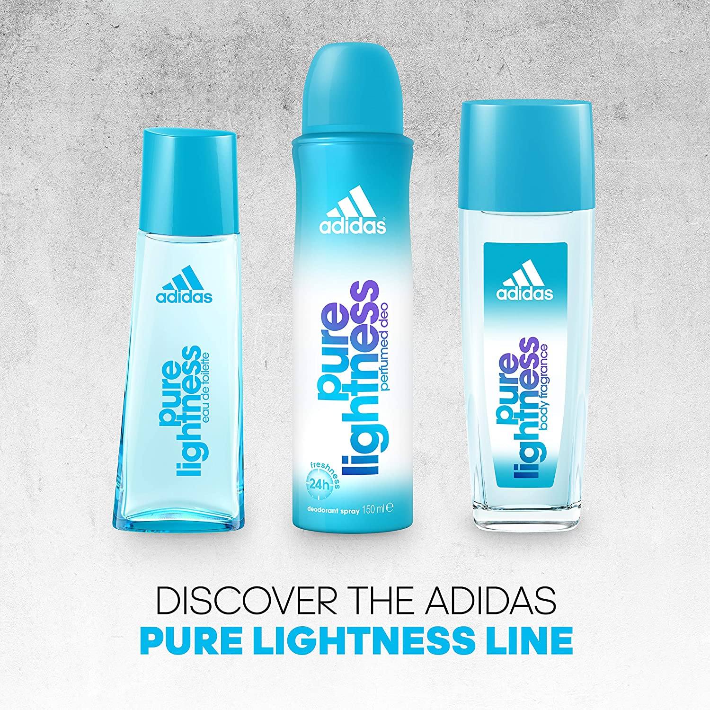vergüenza Siempre borroso  Buy Adidas Pure Lightness Eau de Toilette for Women, 50ml Online at Low  Prices in India - Amazon.in