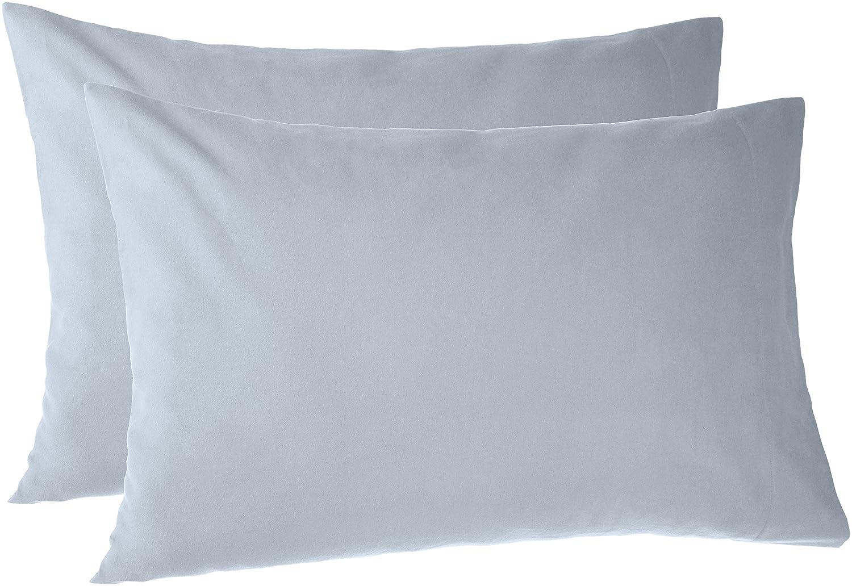 Pinzon 170 Gram Flannel Pillowcases - King, Dusty Blue PZ-FLAN-DP-KPC