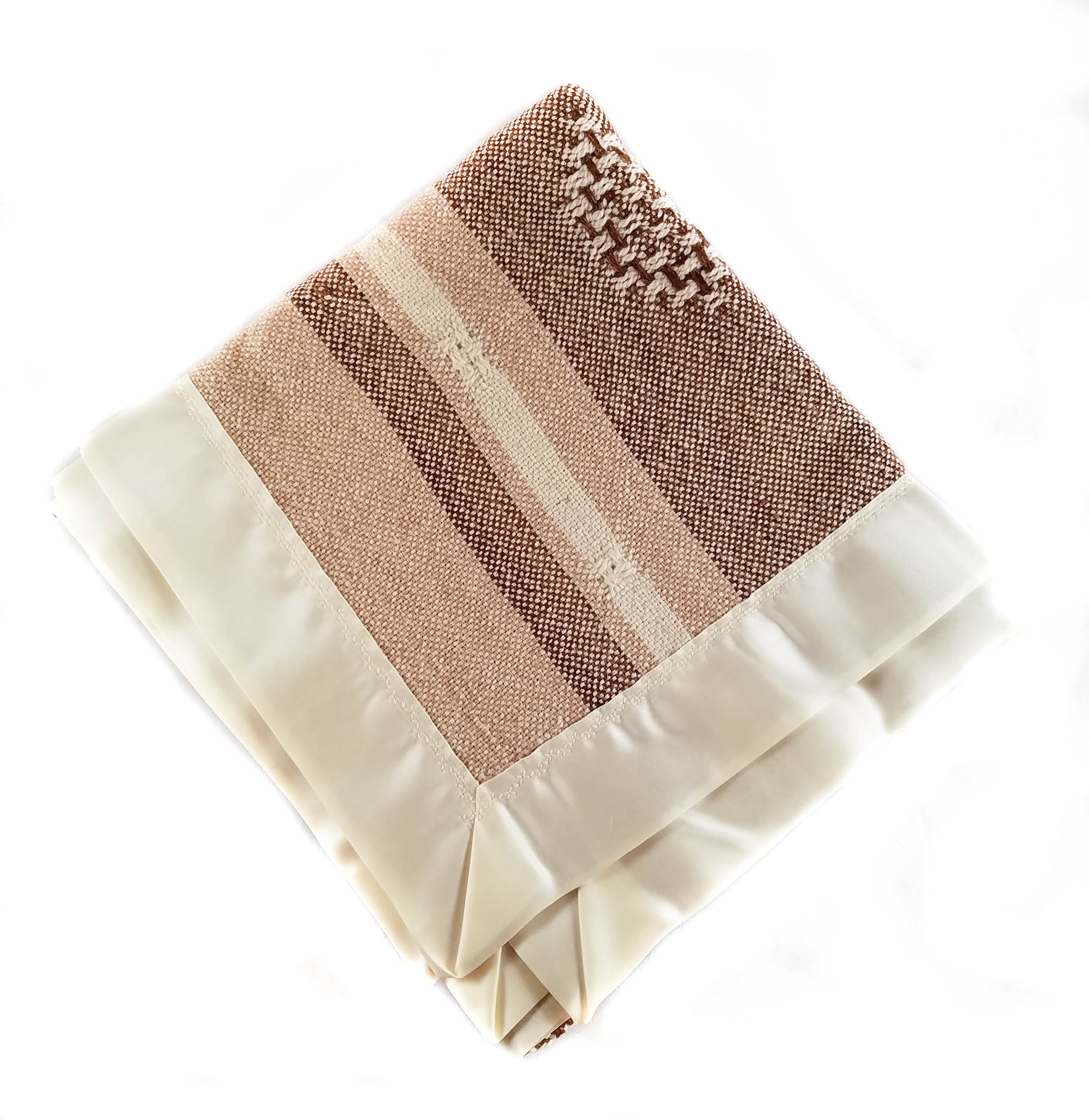 Baby Blanket For Boys Girls Unisex Blankets Alpaca Soft Satin Trim Gender Neutral Nursery Bedding Receiving Swaddling Infant Newborn