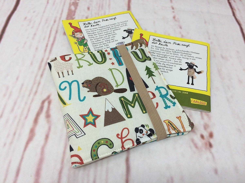 Pixibuch Hülle ALPHABET ** Hülle für original Pixibücher und Maxi Pixi