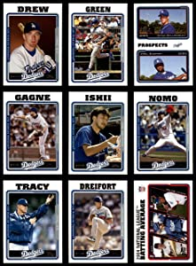 2005 Topps Los Angeles Dodgers Almost Complete Team Set Los Angeles Dodgers (Set) NM/MT Dodgers