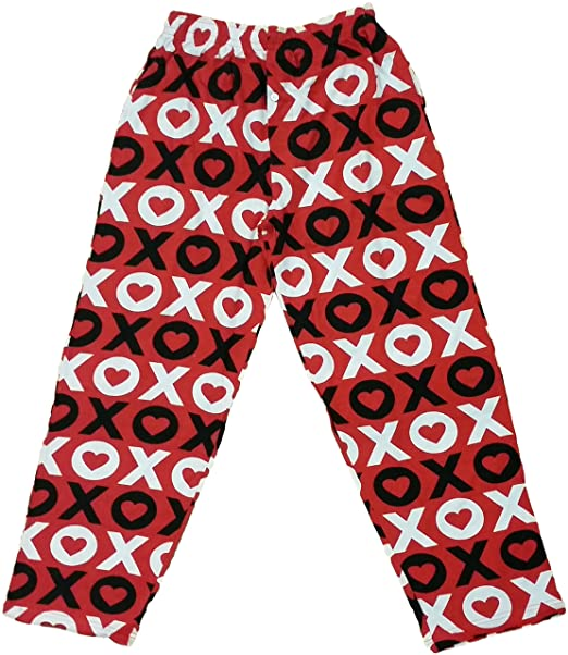 Fun Boxers Mens Valentines Day Fun Prints Pajama Lounge Pants