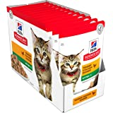 Hill's Science Diet Cat Food, 1020 Pouch, 85g, 12 Pack (11093LG)