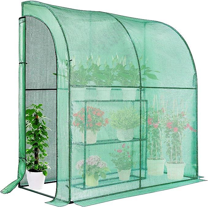VIVOSUN Mini Lean-to Greenhouse