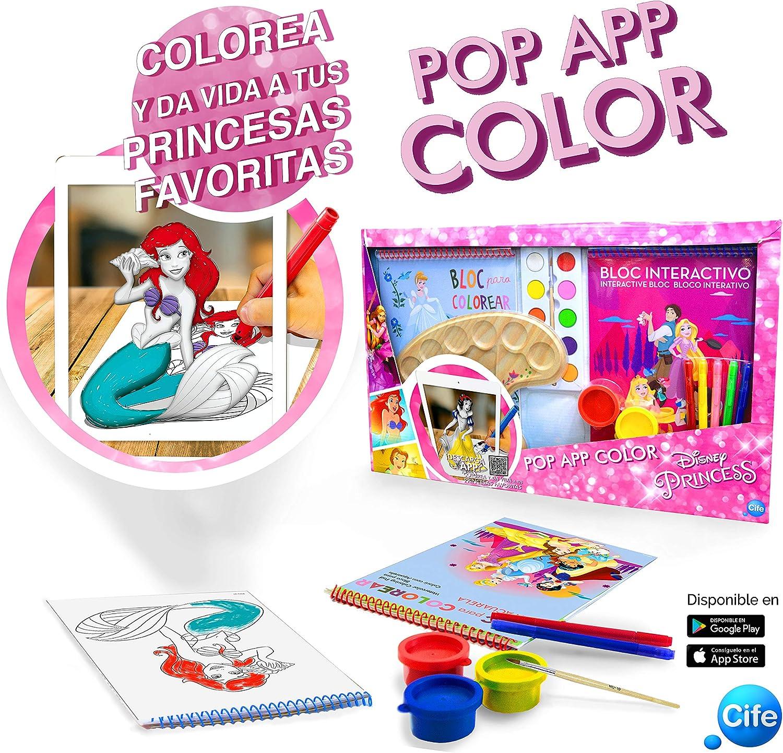 Disney Princesas Cuaderno De Actividades para Colorear con ...