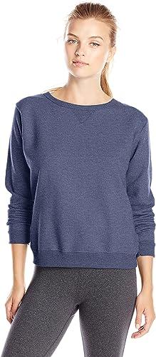TALLA M. Hanes Womens Comfortsoft Ecosmart Crewneck Sweatshirt (O4633)