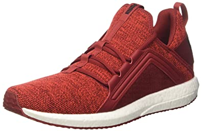 698d72a822dcc4 Puma Men s Mega Nrgy Knit Red Dahlia