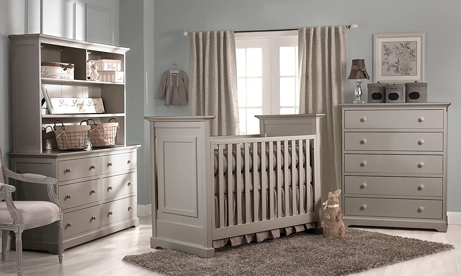 decoration picture bedding green brown crib gorgeous cribs wood oak room nursery using dark bed natural with extraordinary rectangular sage organic light of white baby and valance including