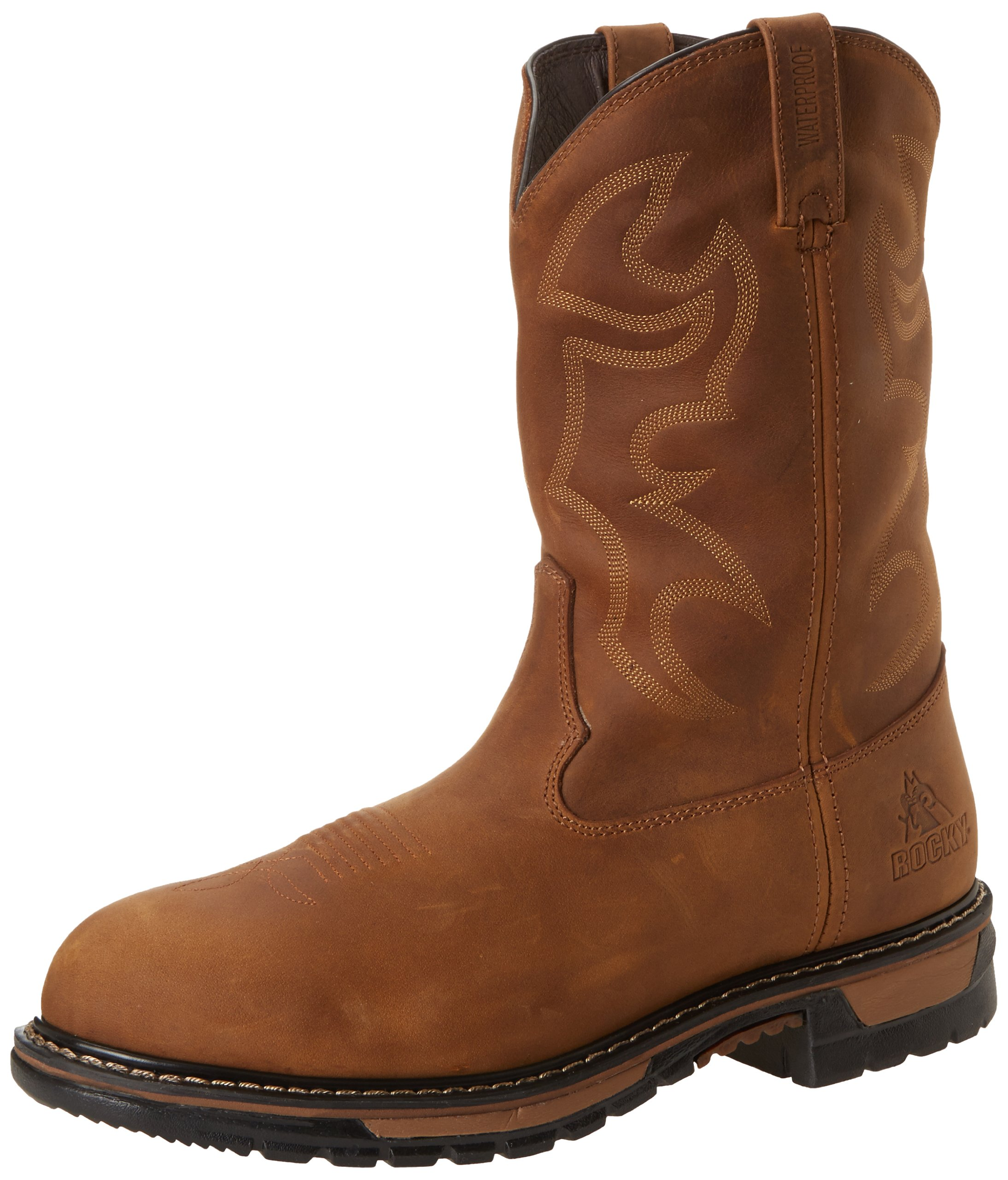 Rocky Men's FQ0002733 Boot, aztec crazy horse, 9 M US