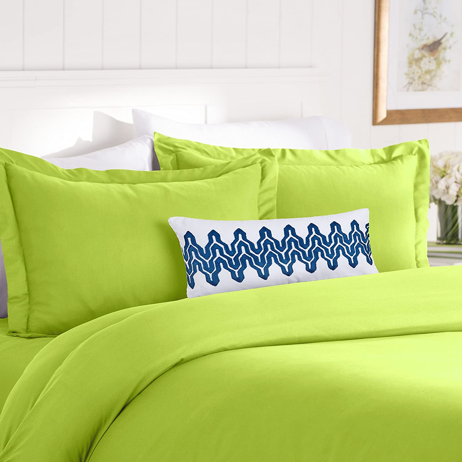 2-Piece Duvet Cover Set, Twin/Twin XL, Lime