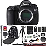 Canon EOS 5DS R Professional DSLR Camera + 64GB SDXC Memory Card + Extra LP-E6 Battery + SD Card Reader + Pro Camera Case + IR Remote + Tripod + Monopod - 5DSR - International Version