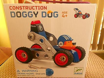À Doug Djeco GrisBleuRouge Doggy Voiture Monter mONnwv08