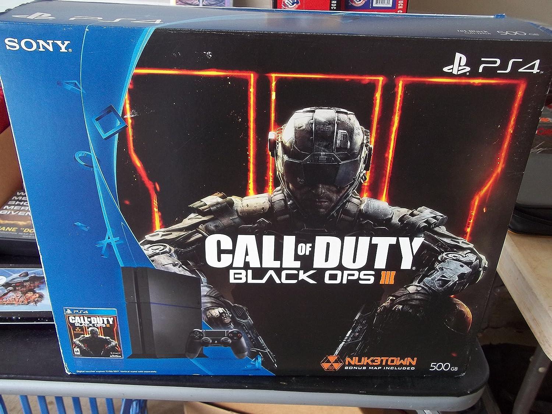 Sony PlayStation 4 (PS4) Console Bundle with Call of Duty Black Ops III - Hard Drive Capacity: 500 GB(米国並行輸入品) B01M0YML1J