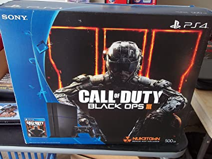 Sony Playstation 4 Ps4 Console Bundle With Call Of Duty Black Ops Iii Hard Drive Capacity 500 Gb Video Games