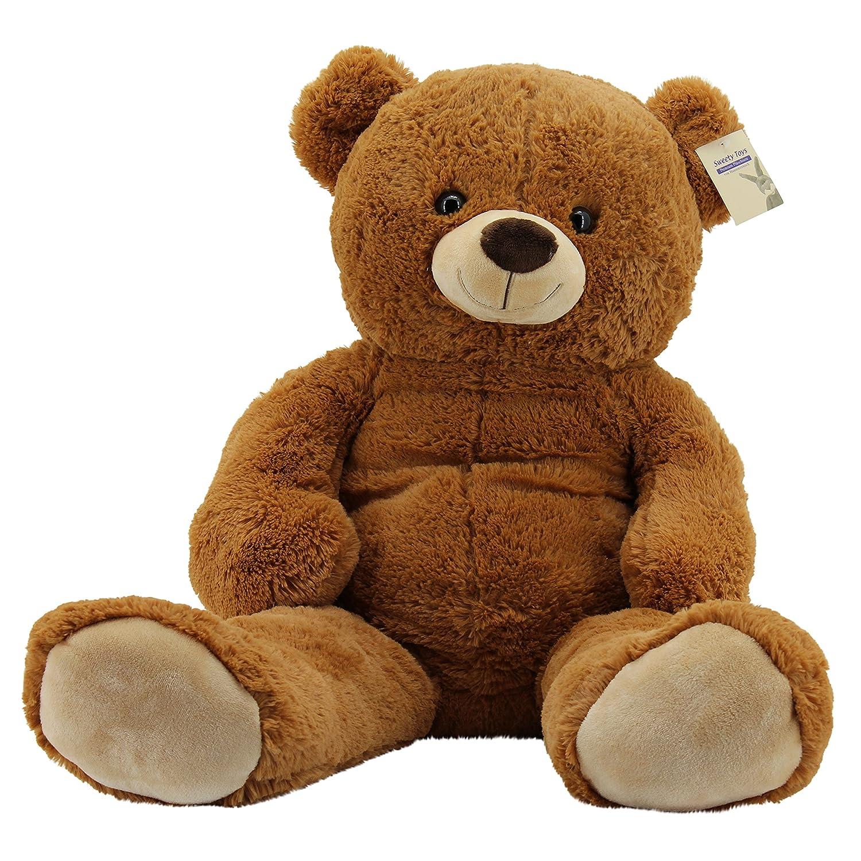Sweety Toys 10189 XXL Riesen Teddy Teddybär Bär braun Plüschbär ...