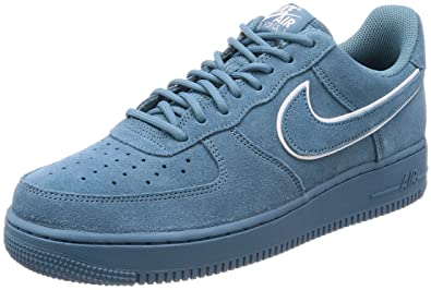 NIKE Air Force 1 '07 LV8 Suede Men's Shoes Noise Aqua/Noise Aqua aa1117