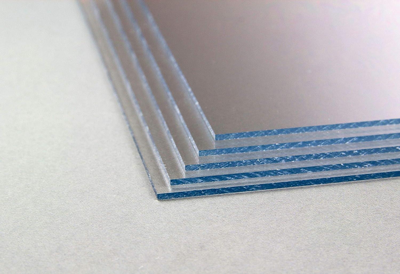 57x57 cm Hier Homedeco-24 Acrylglas 1 mm klar Platte Zuschnitt in verschiedenen Gr/ö/ßen