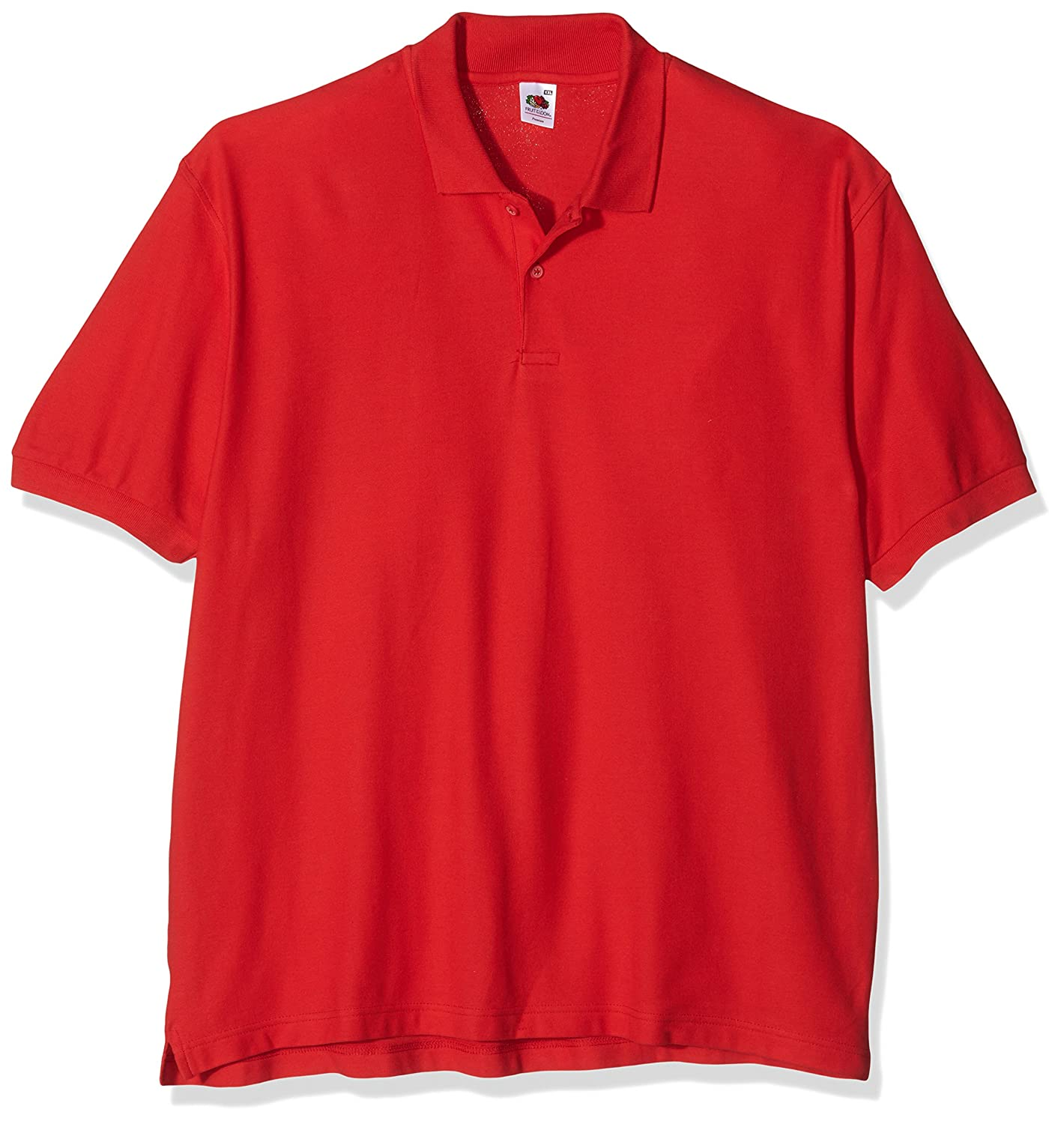 Fruit of the Loom camisa de ss035 m polo para hombre rojo rosso ...