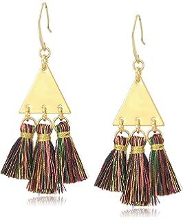 28dc263c88e8b Amazon.com: Rebecca Minkoff Women's Riley Beaded Drop Earrings ...