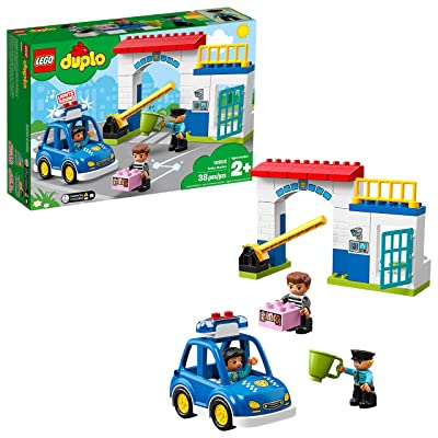 LEGO DUPLO Town Police Station 10902 Building Blocks (38 Pieces): Toys & Games