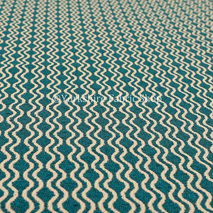 New Soft Quality Chenille Woven Modern Eclipse Pattern Black Upholstery Fabric