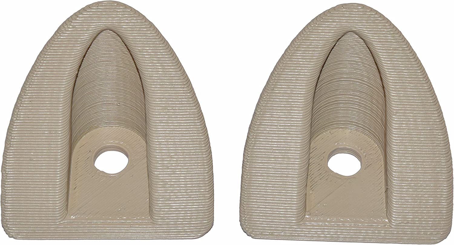 1992-1995 Hummer H1Princess Chair Dash Grommets Gray Set of 2