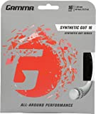 Gamma Synthetic Gut Series Tennis Racket String - Balance Of Playability And Extra Durability For All Playing Levels…