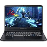 Acer Predator Helios 3 PH317-53-75SC Intel i7-9750H 17.3 inches LCD Laptop 2.6 GHz, 16 GB RAM, 1000 GB Hybrid (HDD/SDD), NVIDIA GeForce GTX 1660Ti, Windows 10 Home - Black