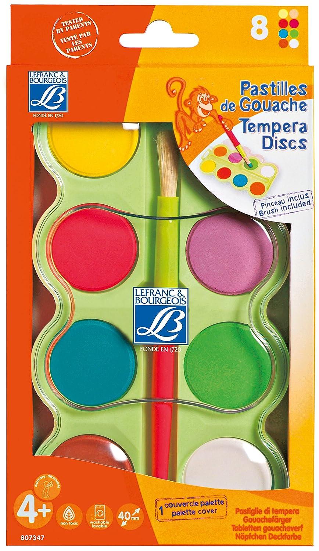 Lefranc Bourgeois Box + Adhesive Brush Education Education–Creative Leisure–8x 40mm L&B Education 807347
