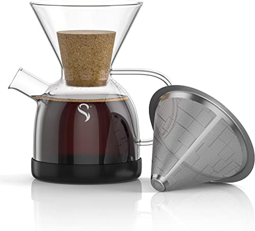 Shanik Pour Over Coffee Maker