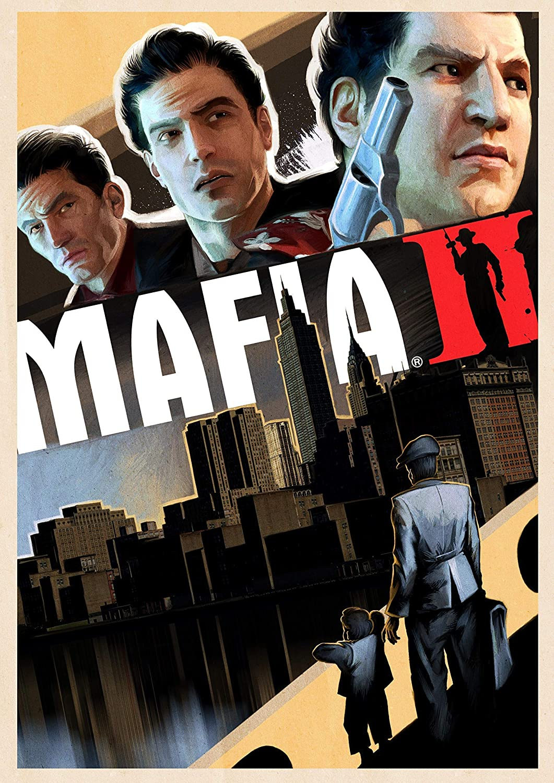 Amazon Com Mafia Ii Poster Art Print Wall Decor Artwork Gift Handmade