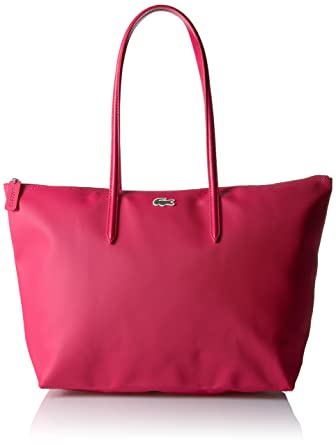 54d8bde3d6 Amazon.com: Lacoste L.12.12 Concept Large Shopping Bag, NF1888PO,  thuja/mother off pearl , 35 x 30 x 14 cm: Clothing