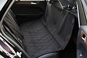 INNX Dog Seat Cover Quilted Hammock Bench Pet For Sedan Cars Trucks