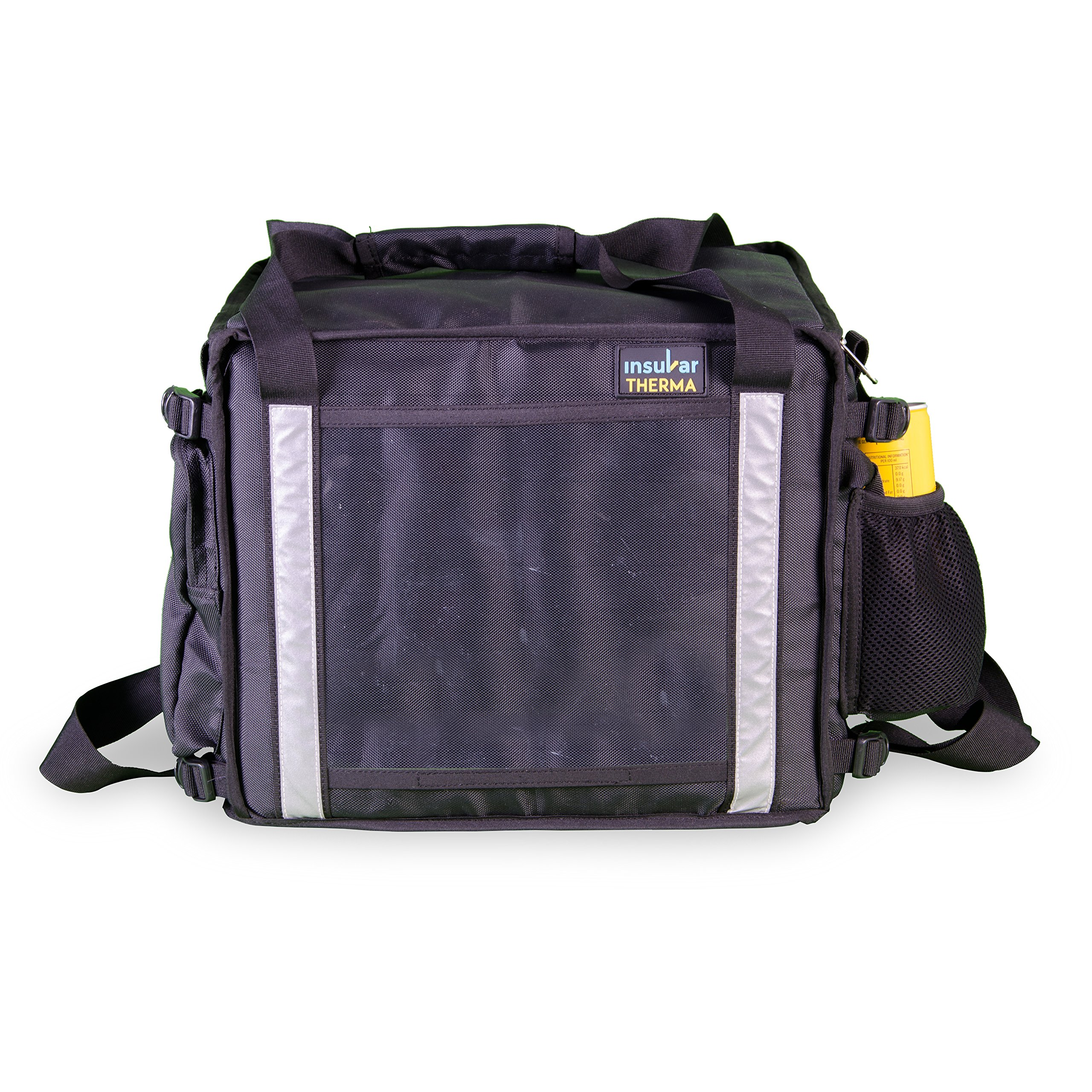 Insular Therma Foldable Standard Meal Bike Delivery Bag - Premium Commercial Insulated hot Food delivery Bag | Water & Stain Repellent | Foldable
