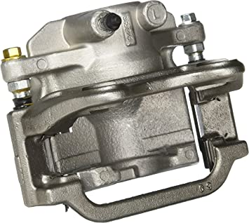 ACDelco 18R2220F1 Professional Rear Driver Side Disc Brake Caliper Assembly with Pads Loaded Non-Coated Remanufactured