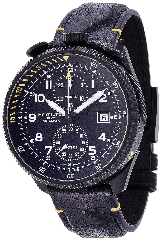 [ハミルトン]HAMILTON 腕時計 Khaki Takeoff Limited Edition(カーキ テイクオフ リミテッド エディション) 世界1999本 H76786733 メンズ 【正規輸入品】 B00PFWZTZE