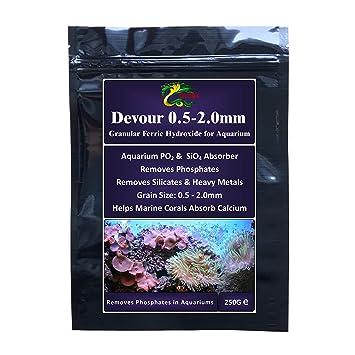Hydra Devour 250 g (grano 0.5 - 2.0 mm) fosfato Remover para acuarios marinos y filtros de acuarios para cama fijo o fluidised: Amazon.es: Productos para ...