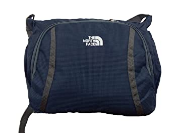 9c7b72f1d The North Face Blue Color Small Side Sling Shoulder Bag: Amazon.in ...