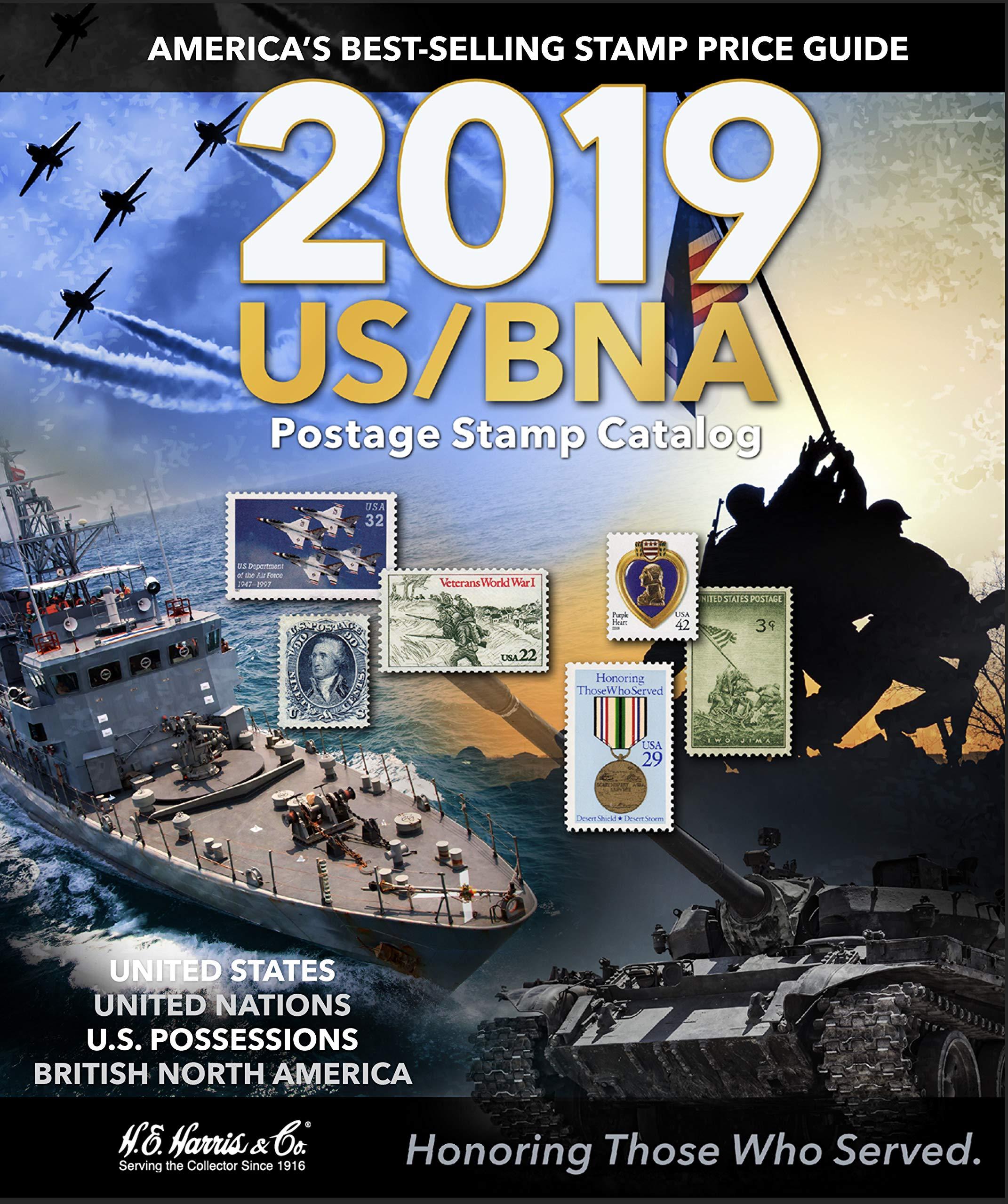 US/BNA 2019 Postage Stamp Catalog (US BNA Postage Stamp Catalog)