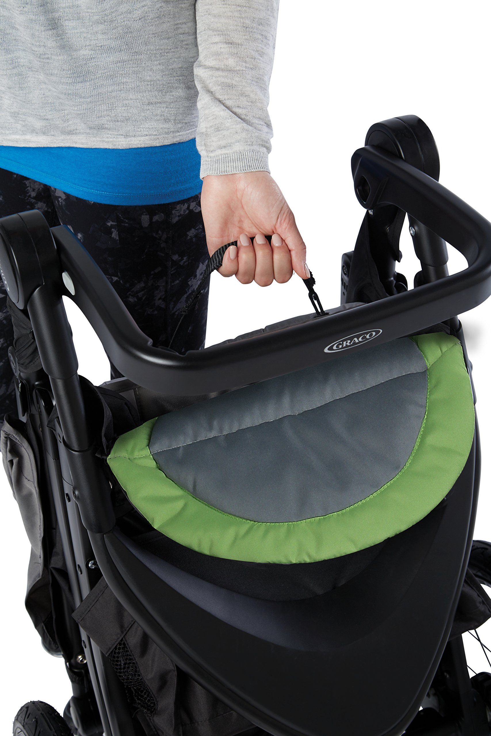 Graco RoadMaster Jogging Stroller, Travel System, Hudson by Graco (Image #7)