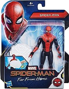Hasbro Marvel Spider-Man - Game Far from Home Web Shield Spider Man, Multicoloured, E4123ES0
