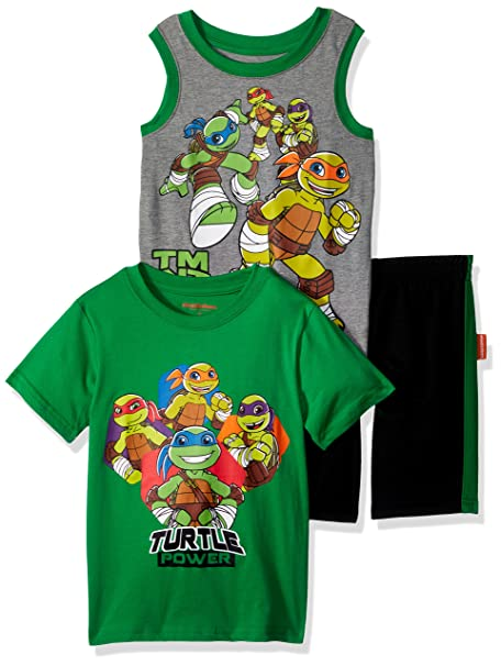 Teenage Mutant Ninja Turtles Boys Ninja Turtles 3 Piece Short Set