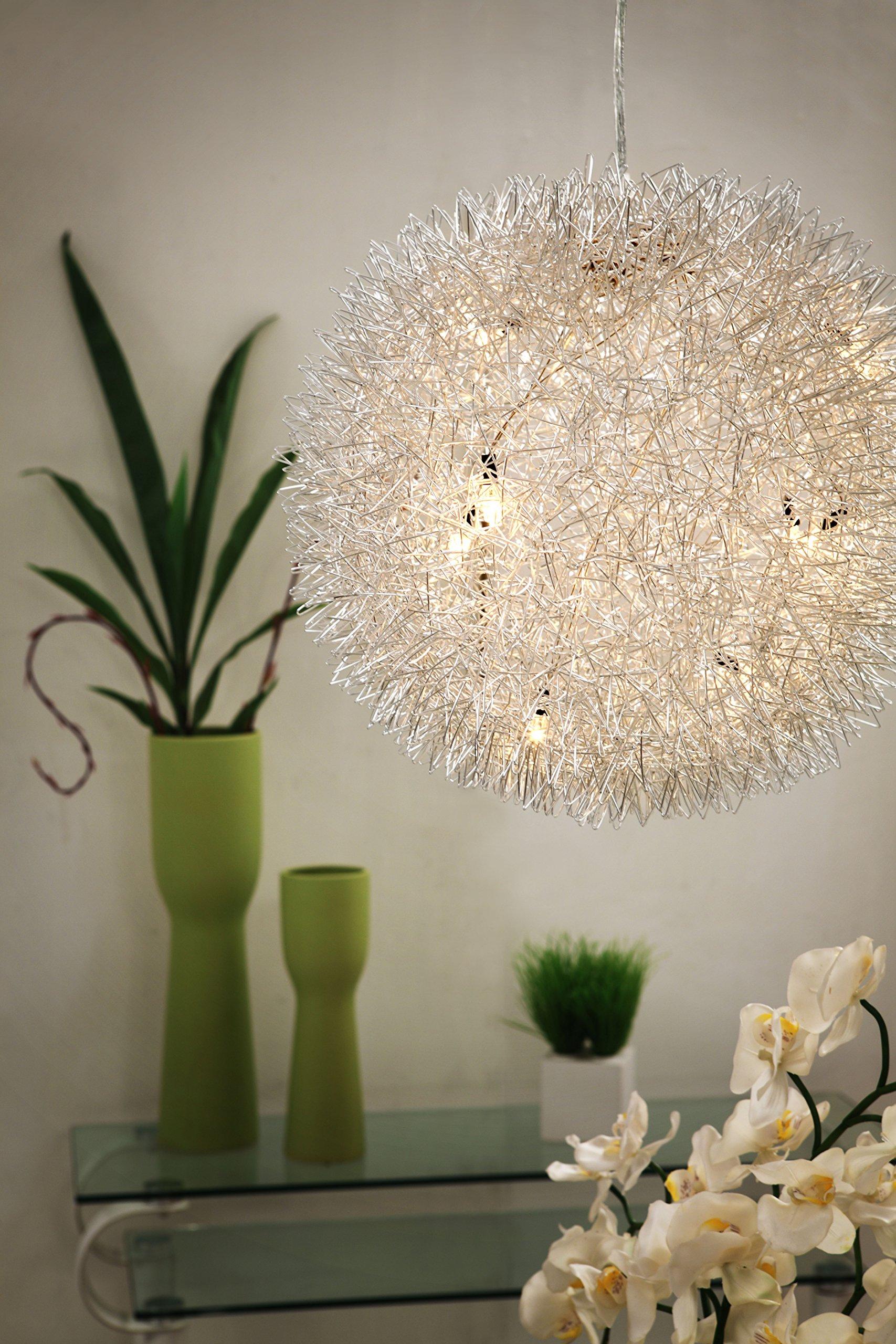 Zuo 50027 Warp Ceiling Lamp, Chrome