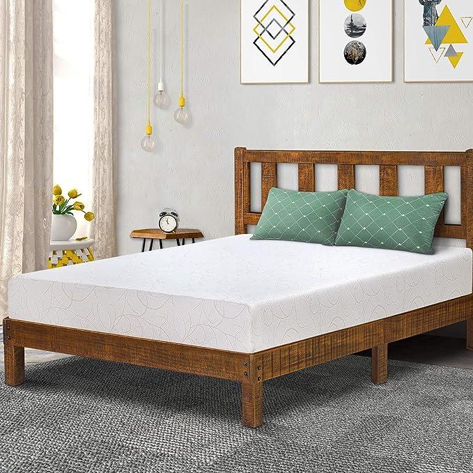Amazon.com: Olee Sleep 7 Inch I-Gel Deluxe Comfort Memory Foam Mattress Twin, 07FM01T: Kitchen & Dining