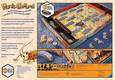 Ravensburger - Panic Cafard, Juego de Tablero (versión en francés): Amazon.es: Juguetes y juegos