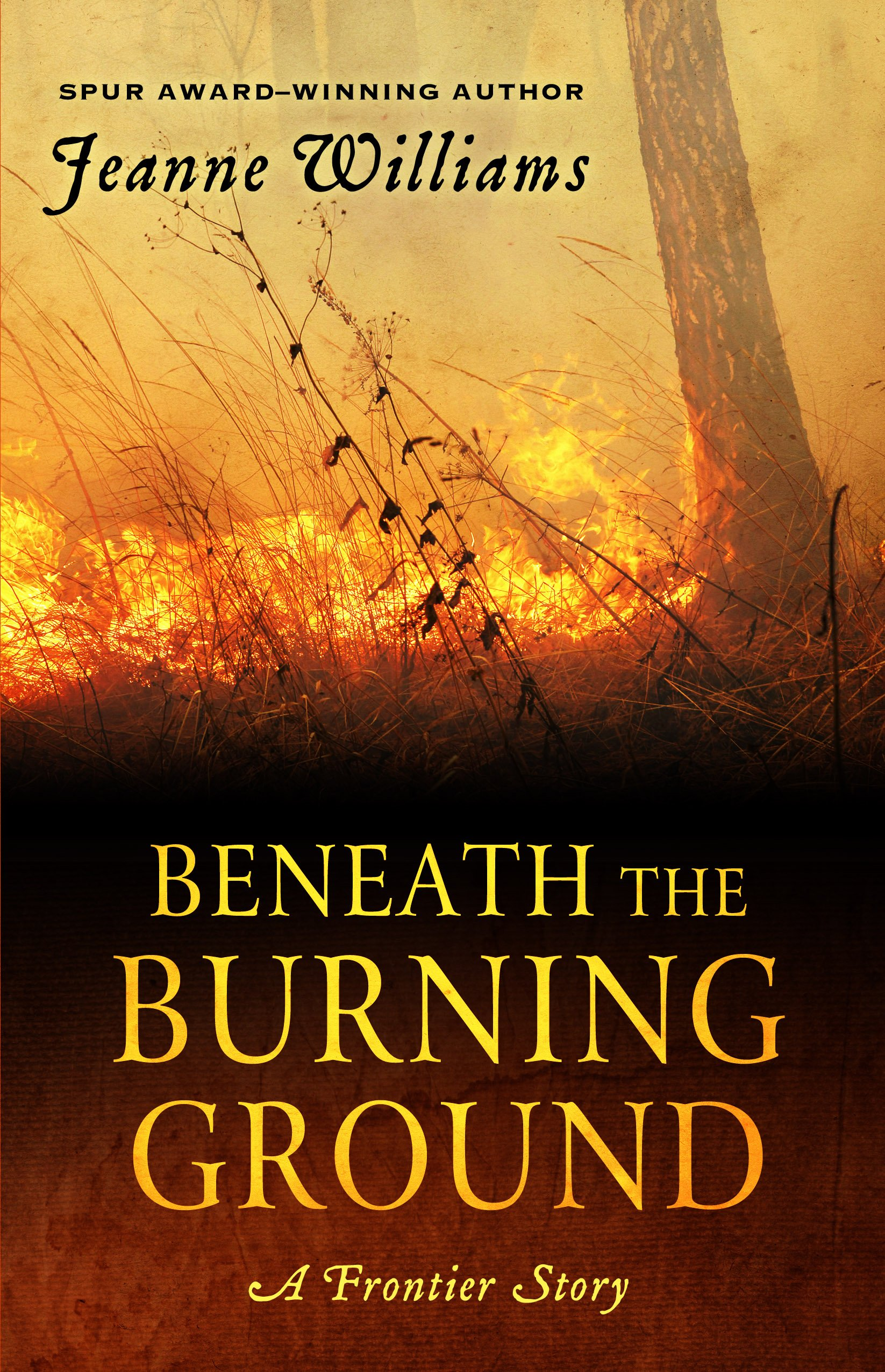 Beneath The Burning Ground (Wheeler Large Print Western) ebook