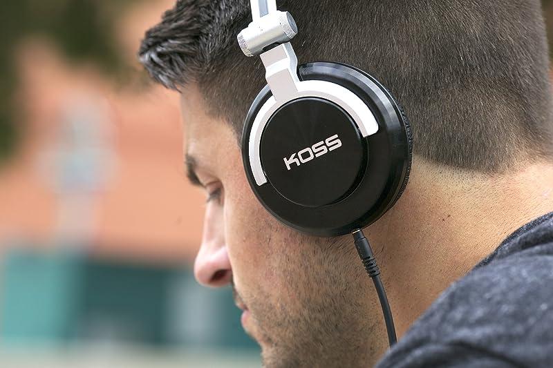 Koss 高斯 ProDj200 头戴式折叠耳机 3.8折$49.99 海淘转运到手¥389