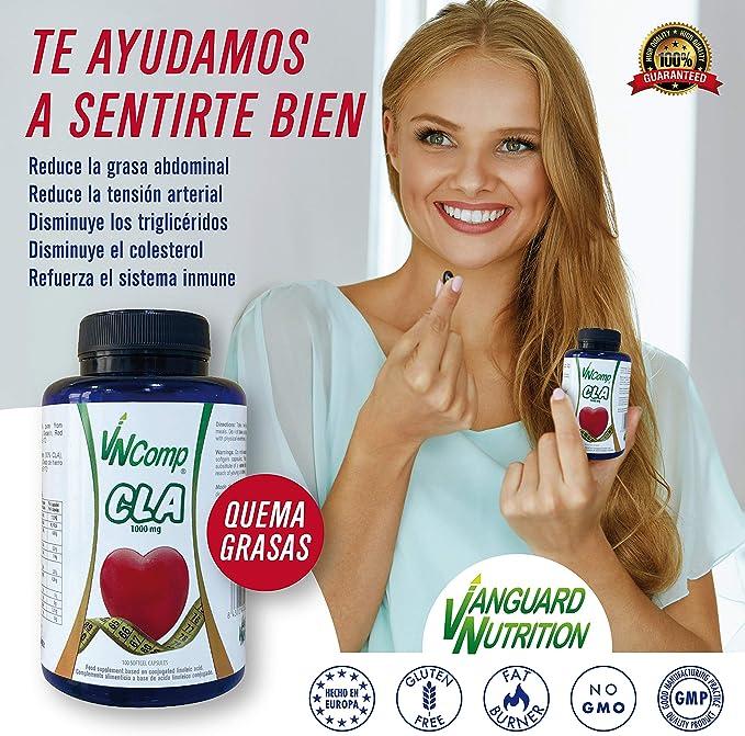 VNComp CLA 1000 mg, 100 capsule. acido linoleico coniugato. Fat burner.